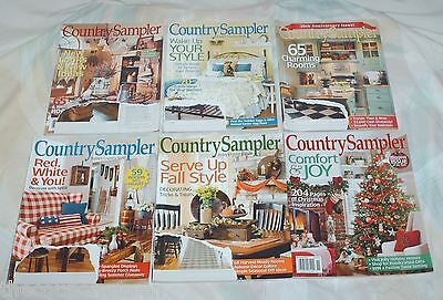 Country Sampler Magazine 2014-2016 12 Issues