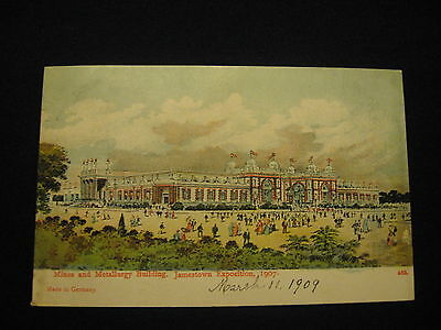 U.S. 1907 Jamestown Expo Picture Post Card