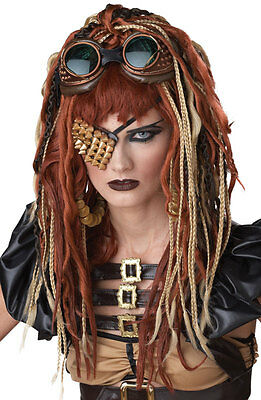 Apolocalypse Dreads Halloween Costume Wig (Brown/Blonde/Red)