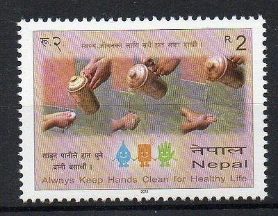 Stamps - Nepal - 2011 - Medical - Always Keep Your Hands Clean -