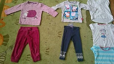 clothes bundle for girls age 18-24 month