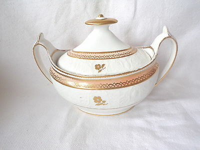 Antique Early 19Th Century Spode, Bone China Sucrier.