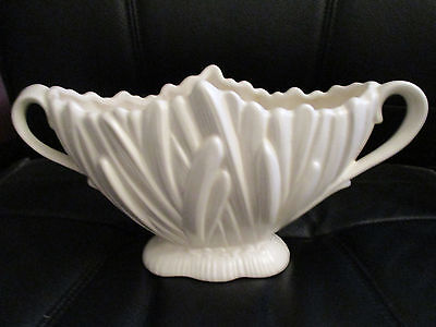 Vintage white SylvaC 'Hyacinth' vase with handles - large