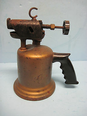 Antique Wall Plastic Handle & Cast-Iron Blowtorch