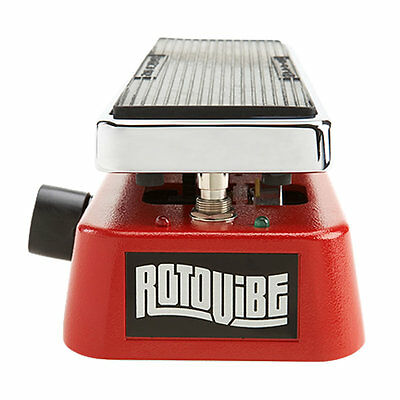 Dunlop JD-4S Rotovibe Expression Pedal  JD4S & 2 Free Patch Cables