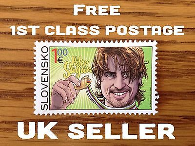 Peter Sagan Stamp - Limited Edition, UCI World Road Cycling Champion 2015