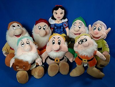 Fantastic Disney SNOW WHITE and The SEVEN 7 DWARFS **EXCELLENT CONDITION**