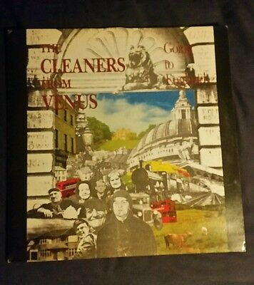 The Cleaners From Venus - Going To England LP First Press Vinyl RARE CLEANLP1 VG