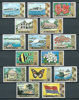 Small Collection Of Stamps From Kiribati. Mnh.