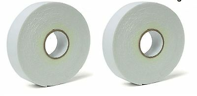 2 of Pack Double Sided Foam Tape Heavy duty Mounting tape 17mm x 3M Wall picture