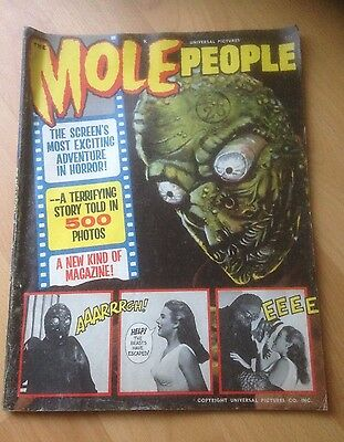 The Mole People - Universal Pictures Magazine - 1964