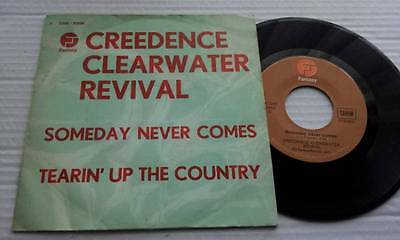 "7"" CREEDENCE CLEARWATER REVIVAL Someday Never Comes 45 Fantasy BELGIUM Press"