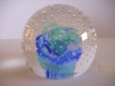 Caithness Scotland Glass Paperweight Reflections 1993 Collectors Club