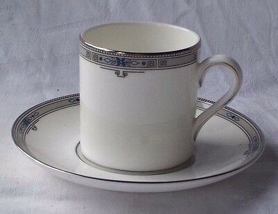 """Wedgwood  """" Amherst """" Pattern Coffee Cup And Saucer"""