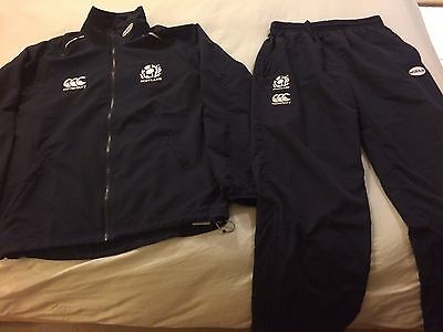 Men's Canterbury Scotland Rugby Tracksuit