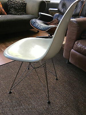 Two Vintage 1960s Eames FibreGlass Eiffel Chairs Vitra