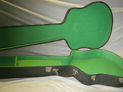 60's XL WIDE VIOLIN SEMI BASS CASE -- LONG SCALE