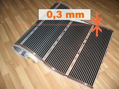 ELECTRIC INFRARED FLOOR HEATING MAT - 50cm (50cm x 50cm), 110W/m, 220V
