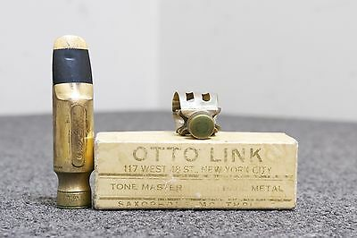 Vintage Otto Link Tone Master Tenor Saxophone Mouthpiece (5 Tip Opening)