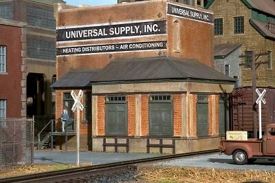 Brennan's Model Railroading Three Story Factory Kit On30 On3 O scale