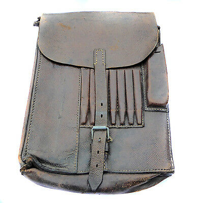 WWII Despatch Riders Map Case British Army Vintage Leather Case Dispatch Rider