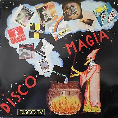 DISCO MAGIA by ALBERT-ONE - Compilation MIX - LP / 33 giri 1984