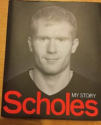 Scholes My Story New Hardback Book MUFC Manchester United