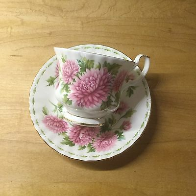 Royal Albert Flower of The Month November Cup and Saucer - China