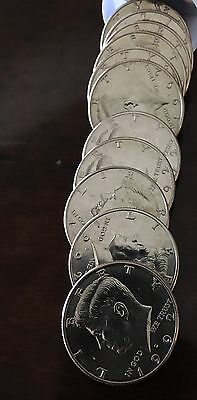 1992 D Kennedy Half Dollar Roll Of 20 Uncirculated $10 From Us Mint Rolls