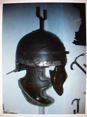 Roman Military Helmet Crest Holder 2/3C Ad Northern Germany Campaign Obsolete