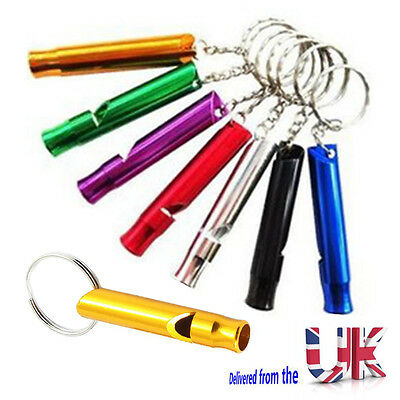 Pet Dog Sound Pitch Silent Puppy Command Training Whistle Pocket Keyring