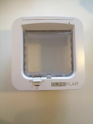 Sureflap Microchip Cat Flap With Warranty, Box, Fixings, Instructions
