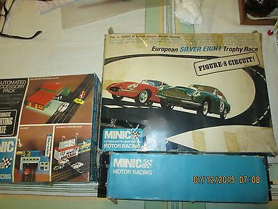 Triang Minic  Trophy Set,Automated Starting Gate & Track-Boxed