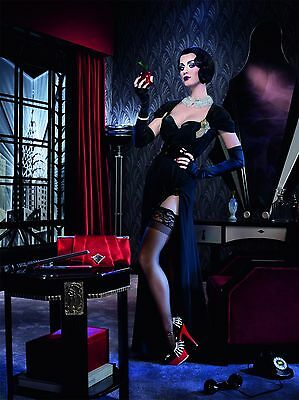 KATY PERRY Black Stockings & Lingerie for GHD Scarlet Promotion Poster