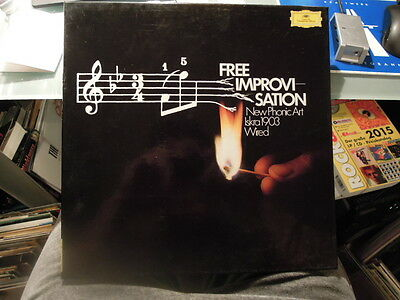 Free Improvisation 3 Lp Box New Phonic Art Iskra 1903 Wired Conny Plank