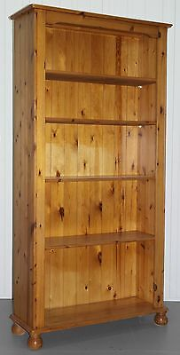Ducal Solid Pine 182.5Cm Tall Bookcase Lovely Farmhouse Country Piece