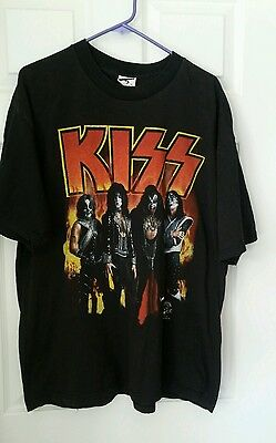 KISS Army Tour 1996 Vtg Cronies T-Shirt Black1996 Shirt Men's size XL