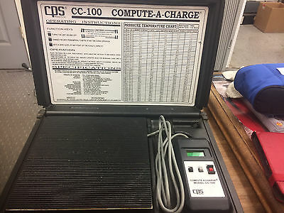 CPS CC100 Compute-A-Charge Industrial Refrigerant Charging Scale