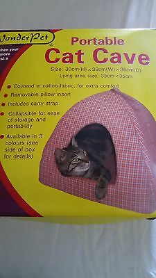Pet  Portable Cat/Kitten Cave, Bed House Igloo