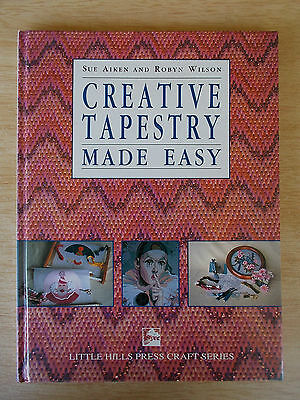 Creative Tapestry Made Easy~Aiken & Wilson~Projects~Stitches~Techniques~80pp H/B