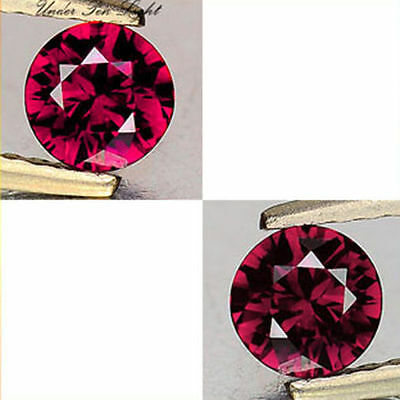 0.37Cts Beautious Gem - Natural Pink To Raspberry Red Color Change GARNET UG037