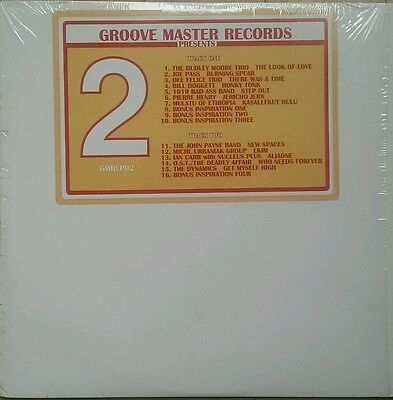 Groovemaster Records Presents 2 - V/A rare soul/jazz/funk/easy grooves LP Clear