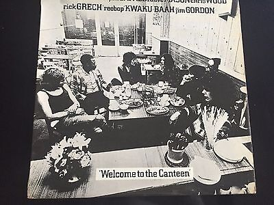 """Traffic """"welcome To The Canteen"""" 1971 Uk Island Lp"""