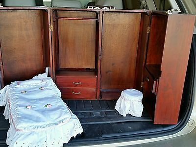 american girl size wardrobe murphy bed cabinet