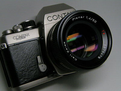 Excellent Contax S2 60 Years + Outstanding 1.4/50 Carl Zeiss Planar T* 1,4/50