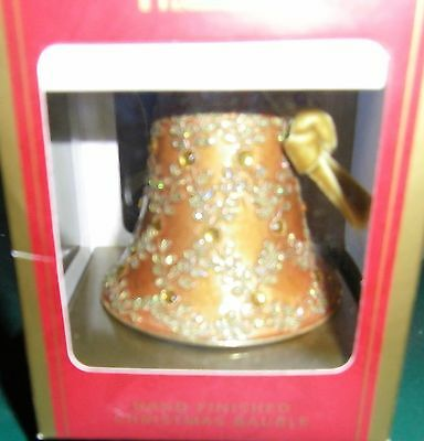 Harrods Gold Christmas Bell