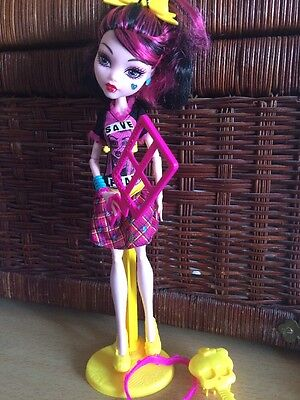 Monster High Freaky Fusion Save Frankie! Draculaure Doll