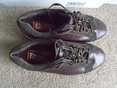 FootJoy Contour Casual 54226 spikeless Golf Shoes men size 9.5 XW