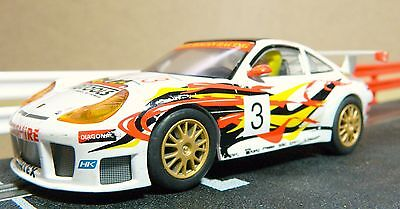 Scalextric Porsche 911 Gt3R 'teng Tools' In  Good Unboxed Condition (C2268)