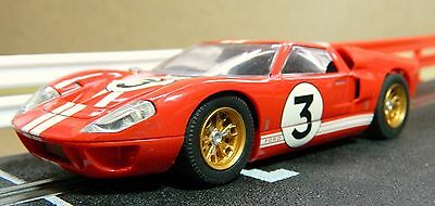 Scalextric Ford Gt40  (C2509A) In Fair Used Condition